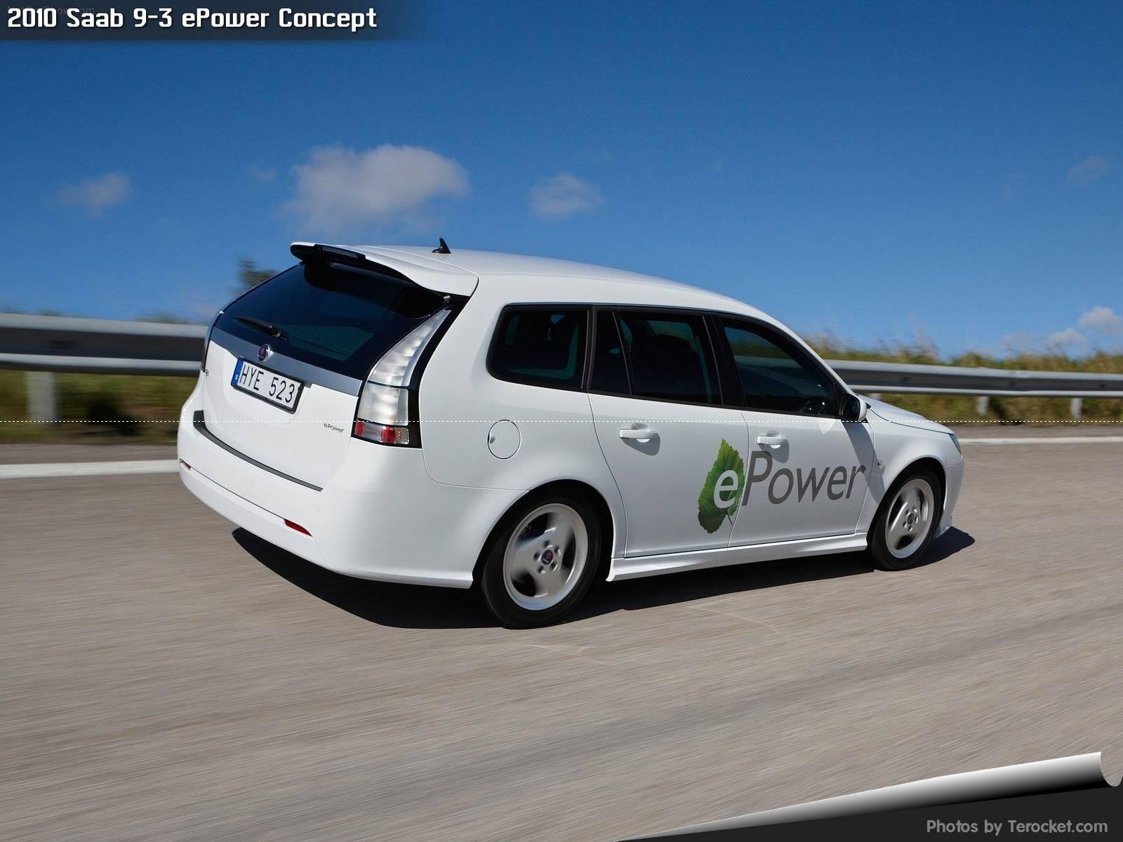 Hình ảnh xe ô tô Saab 9-3 ePower Concept 2010 & nội ngoại thất