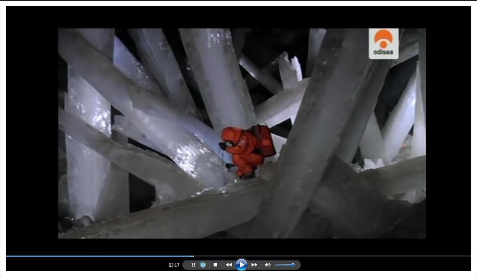 Vídeo Naica-la Gruta de los Cristales Gigantes