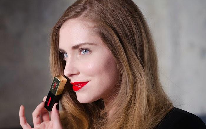 Chiara Ferragni Vernis à Lèvres Yves Saint Laurent YSL