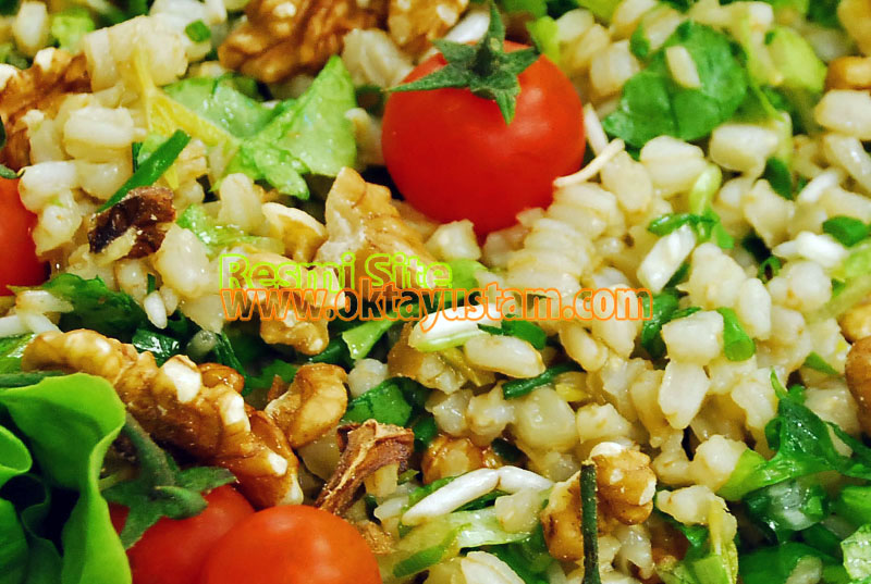 Oktay Usta Soya Filizli Buğdaylı Salata Tarifi Yeşil Elma Oktay Usta Soya Filizli Buğdaylı Salata Yapılışı