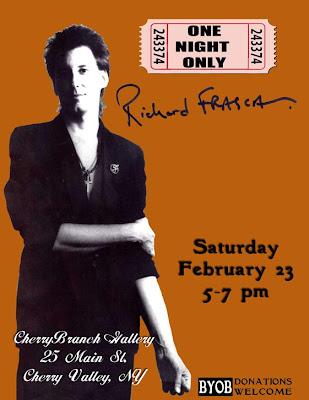 Sat, Feb 23, Cherry Branch Gallery, Cherry Valley NY