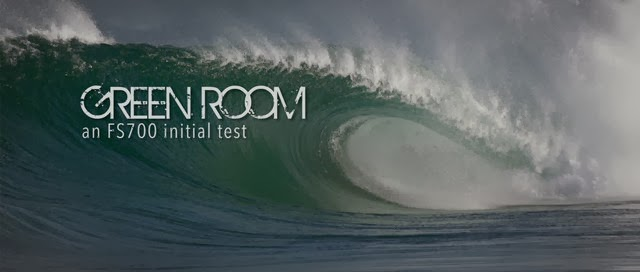 Green Room- an FS700 initial Test