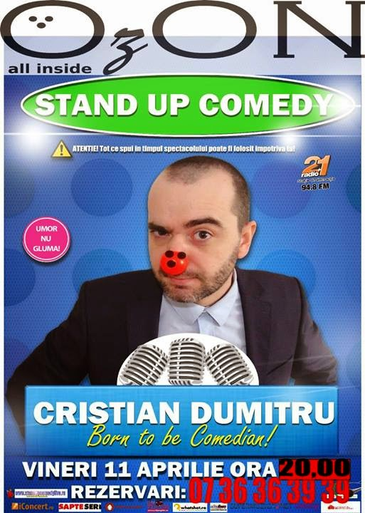 stand-up comedy resita vineri