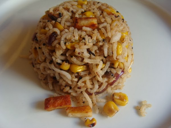 easy rice recipe paneer corn