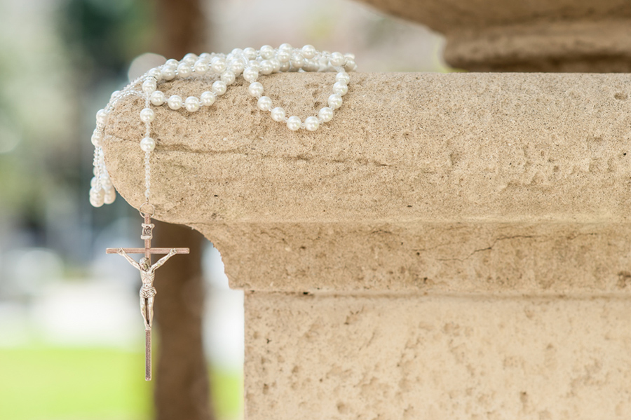 Catholic bride rosary