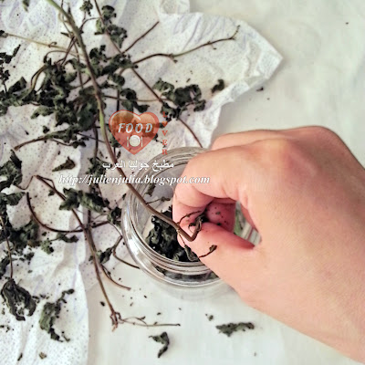 كيفية تجفيف النعناع والأعشاب عموماً