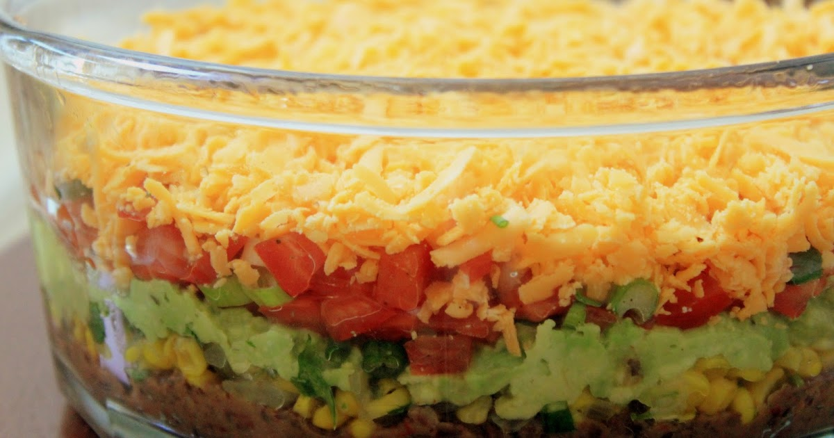 the halal foodie: Mexican 5 Layer Dip