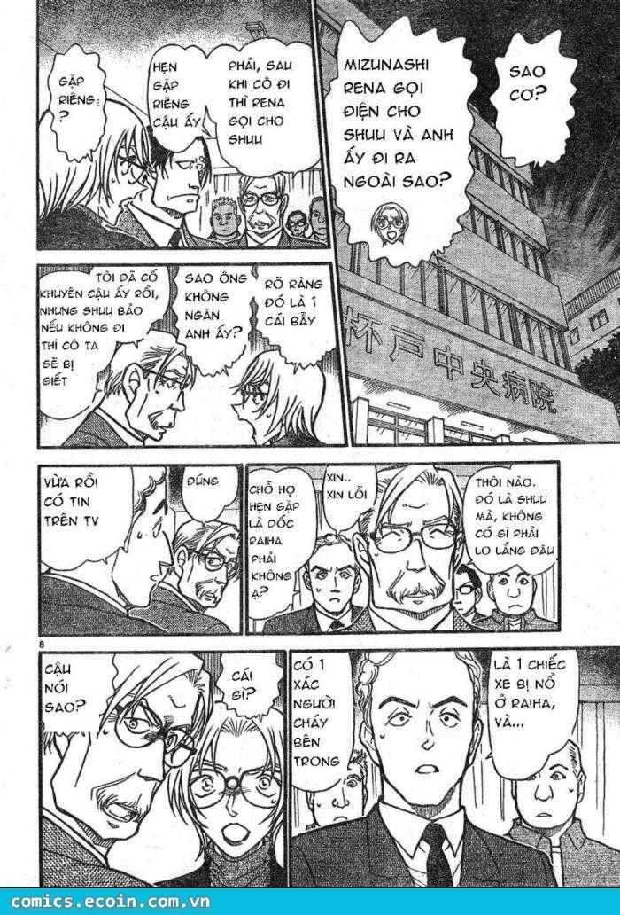Detective Conan - Thám Tử Lừng Danh Conan chap 609 page 8 - IZTruyenTranh.com