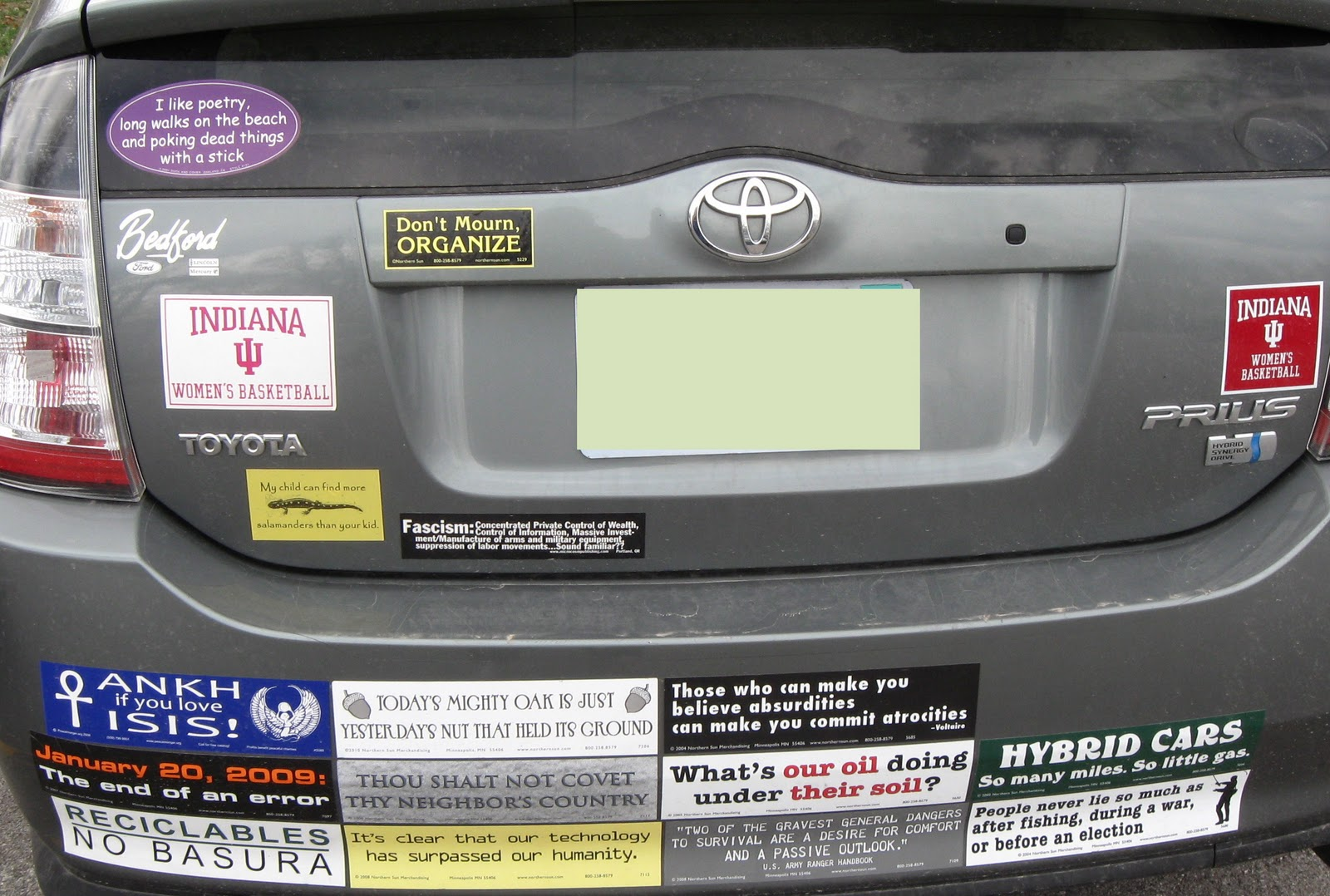 Anti Libya War Bumper Stickers Spotted Already
