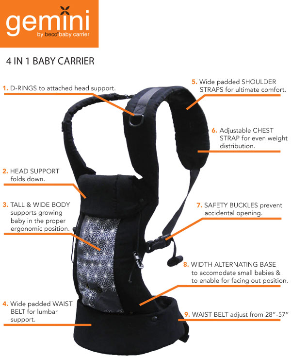 Life With My Littles Gemini Beco Baby Carrier Review And Giveaway