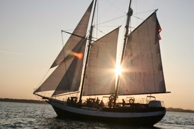 Sail Away to Romance Special Sunset Sail - Schooner Freedom 1 schooner2Freedom390 St. Francis Inn St. Augustine Bed and Breakfast