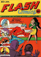 Flash Comics #1 comic cover
