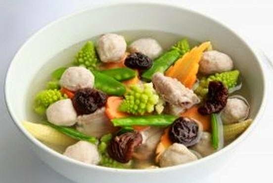 Vegetables Soup Recipe - Canh Rau Củ