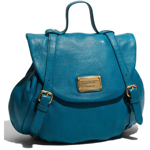 MARC JACOBS CLASSIC Q BACKPACK. SALE IN REEF BLUE!