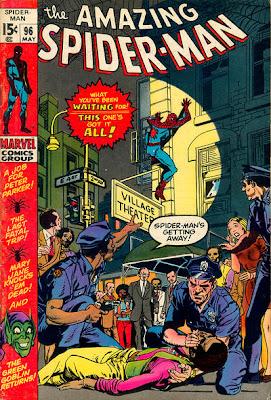 Amazing Spider-Man #96, drugs issue, Green Goblin