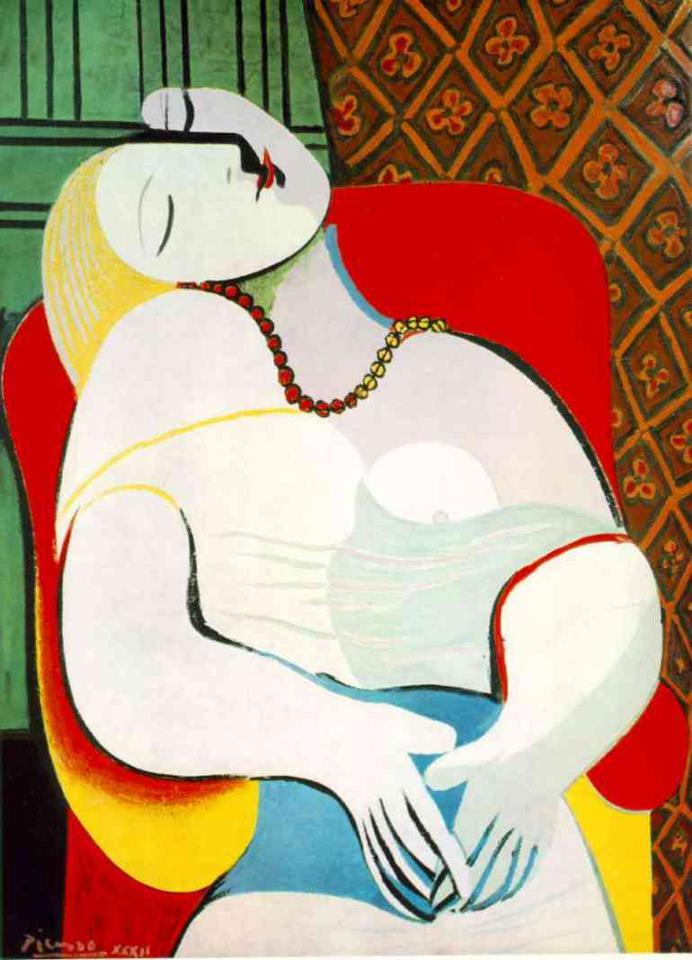 """""""il sogno"""" di Pablo Picasso"""