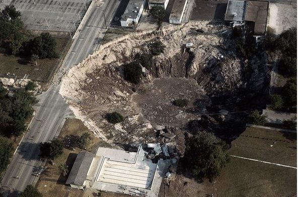 Sinkholes In Florida Map.7 Winter Park Sinkhole Florida Pitholes In The Ground
