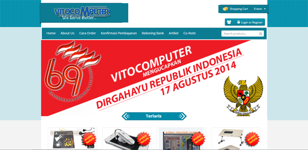 Vitocomputer Toko Online Komputer Terpercaya Jakarta