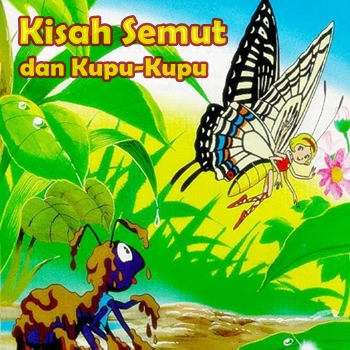 Dongeng Semut Dan Kupu Kupu Cerita Dongeng Indonesia