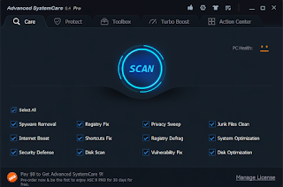 IObit Advanced System Care PRO 8.4.0.811 + Keys