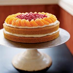 Orange Cake Recipe Picture