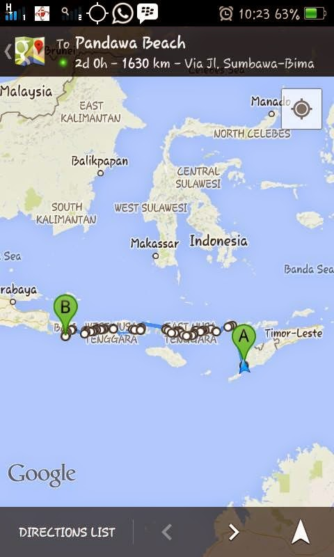 Journey to HBD from kupang - NTT (KCS 001)
