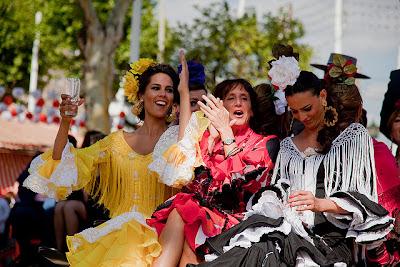 Feria de Abril Sevilla - gitanas