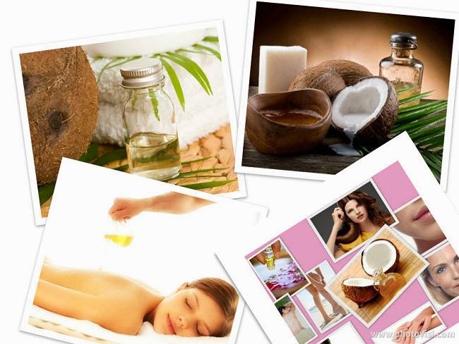 Tác dụng của dầu dừa với sắc đẹp