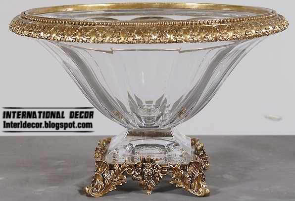 luxury crystal home accessories, crystal plates, cups - home