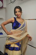 Sanjjana Latest Glam pics in saree-thumbnail-8