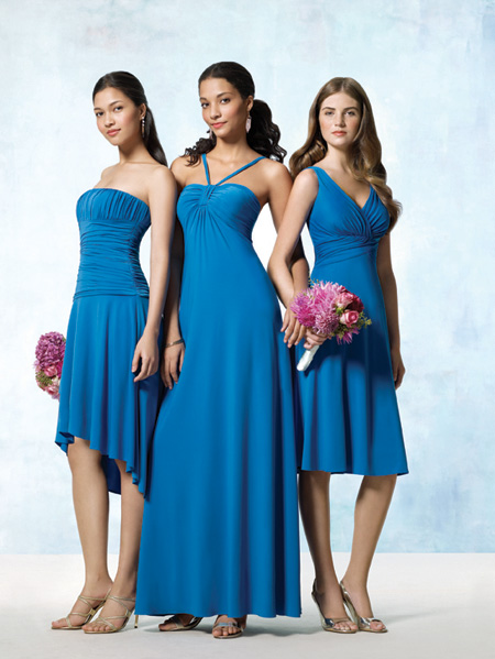 simple bridesmaid dresses