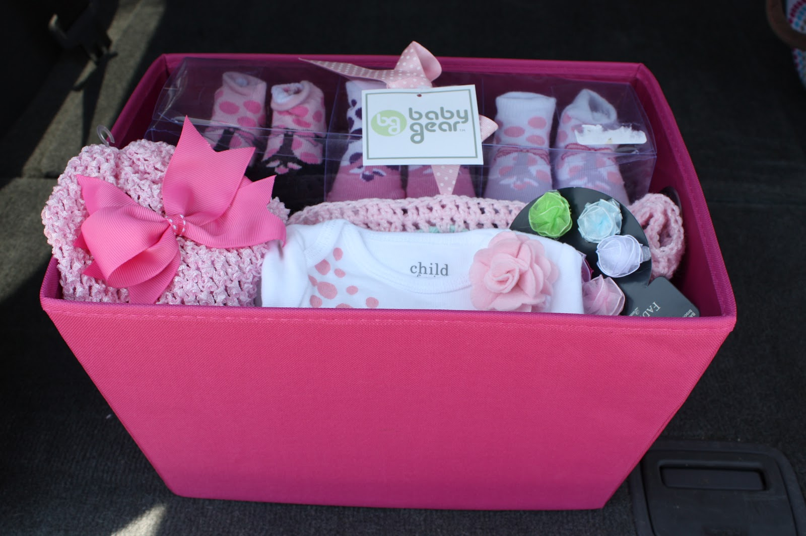 A Crafty Escape: Baby Shower Gifts