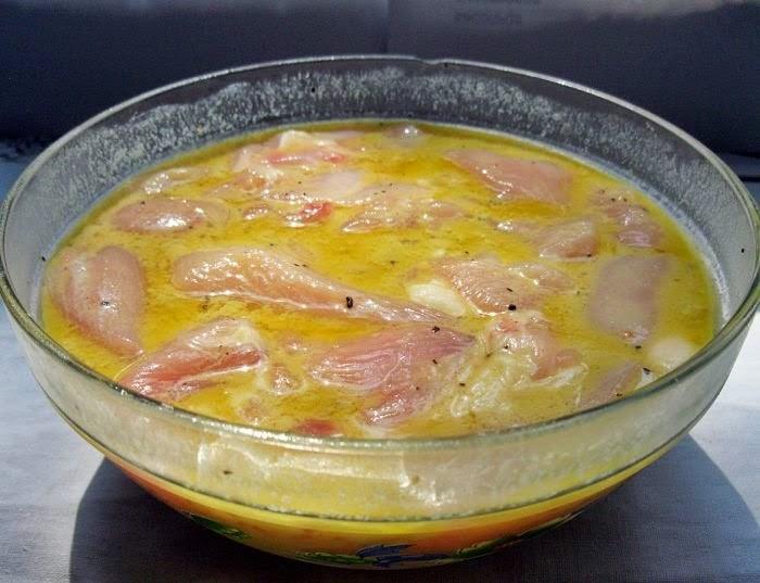 Заливка для быстрого приготовления мяса
