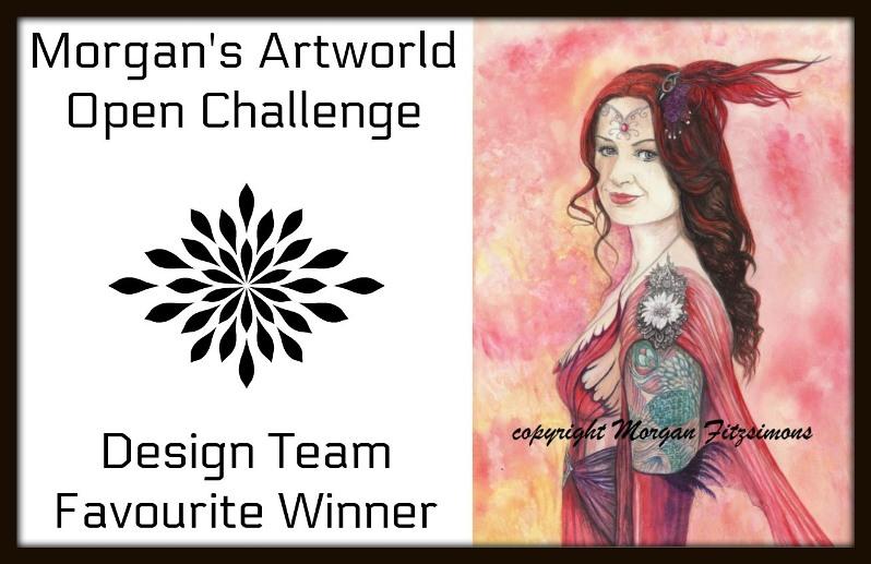 DT Favorite At Morgan's Artworld Challenge Blog