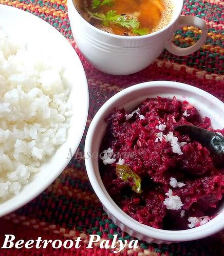 how to prepare beetroot palya