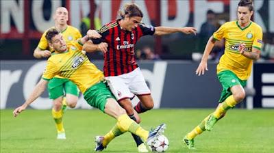Xem lại đầy đủ trận Celtic vs AC Milan