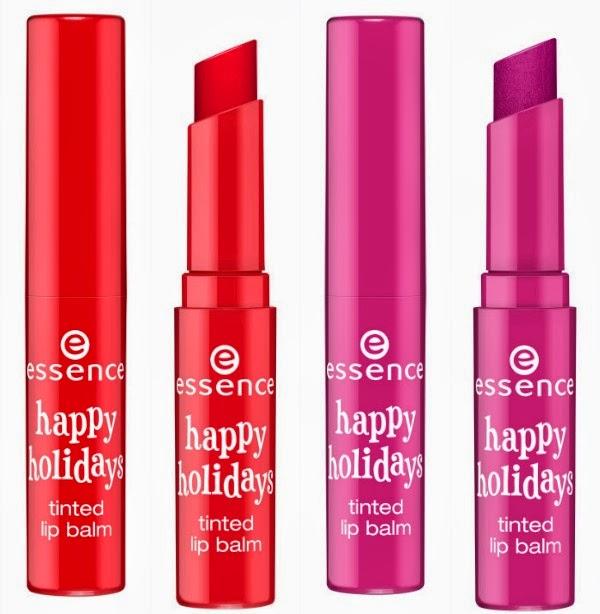 essence happy holidays – tinted lip balm