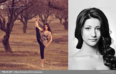 Miss Armenia Hayastan Միսս Հայաստան 2012 Alita Abgaryan