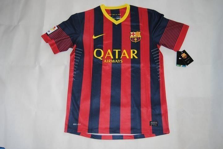 Camiseta local FC Barcelona 2013-2014 ya incluso en venta