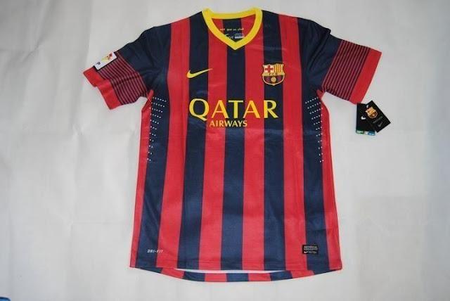 Camiseta Local FC Barcelona 2013 2014 Ya Incluso En Venta