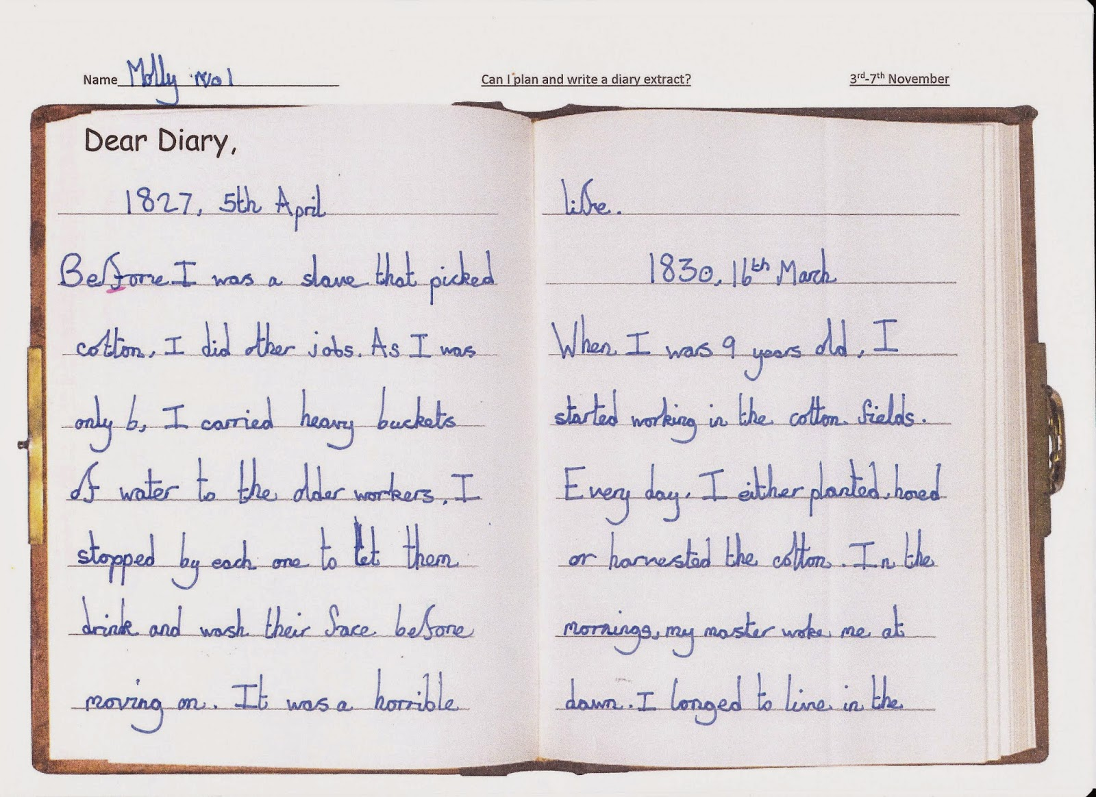 diary entry Diaries are great ways to keep track of your past and think about your future you can make predictions about what will happen, see how you changed over time.