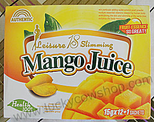 leisure 18 slimming mango juice