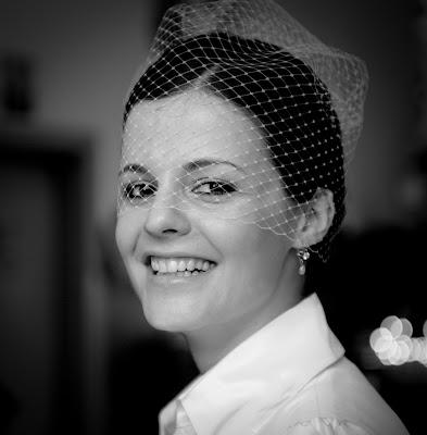 Свадебное фото: улыбка невесты