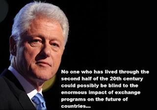Kata Kata Bijak Bill Clinton dalam Bahasa Inggris dan Artinya