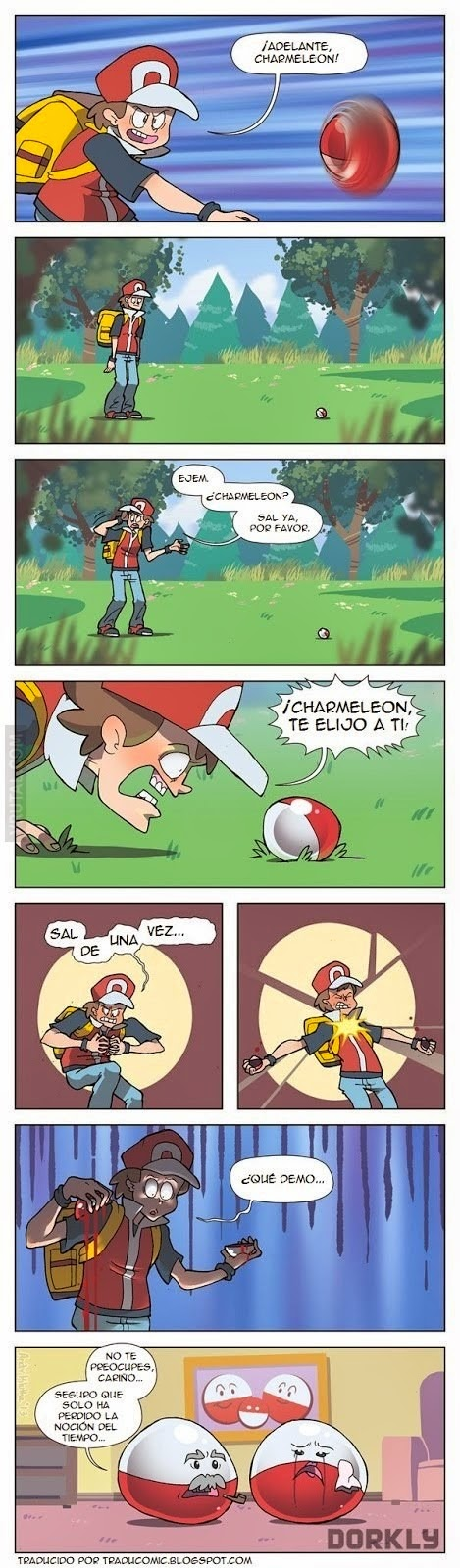 Humor Pokemon: Confundir la Pokeball...