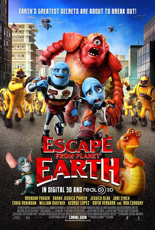 Escape from Planet Earth 2013 720p Esub BluRay  Dual Audio English Hindi GOPISAHI