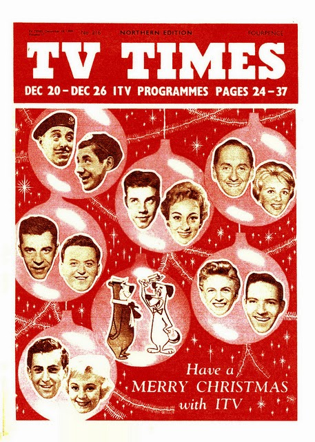 All About London Christmas Past 1959 Itv Tv Times Cover What