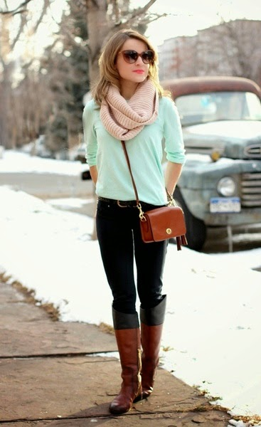 Mint in the winter time