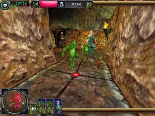 dungeon keeper 2 pc videojuego roll estrategia descargar gratis
