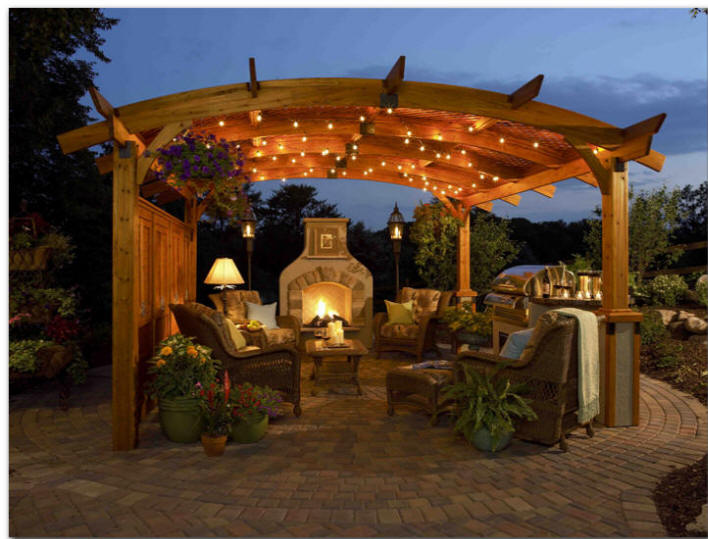 New York Plantings: New York Plantings Garden Design - Pergola ...